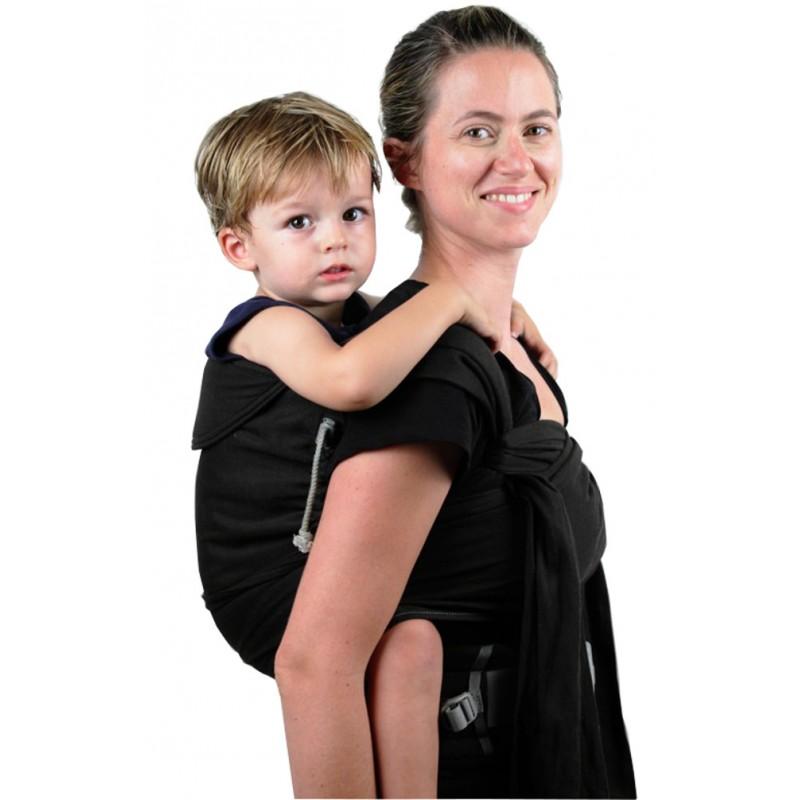Avec les nouveaux porte-bébés vous pouvez portez jusqu'à 5 ans