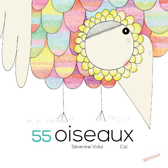 55 oiseaux éditions winioux